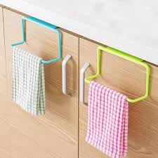 Aliexpresscom  Buy Over Door Tea Towel Rack Bar Hanging Holder - Kitchen cabinet towel rack