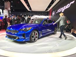 kia supercar kia stinger might really be a game changer