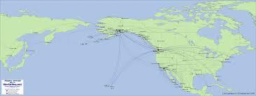 Alaska Air Map Simairline Net Routes