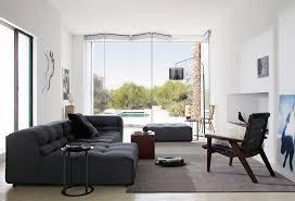 salon du canapé canapé gris 50 designs en nuances grises pour votre salon