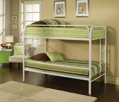 How To Choose White Metal Bunk Beds Modern Wall Sconces And Bed - Nice bunk beds