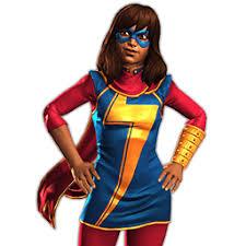 Ms Marvel Halloween Costume Win Fight Ms Marvel Kamala Khan Plastic Man