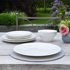 harrogate bone china 12 piece dinner set dinner sets from procook