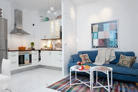 Small White Kitchen Small Kitchen Swedish White Heirloom Apartment