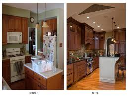 kitchen remodeling idea galley kitchen remodel before and after on a budget
