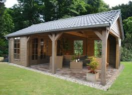 closed off back wall instead of pergola shed ideas pinterest