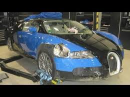 crashed for sale crashed bugatti veyron up for sale