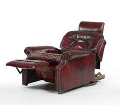 Leather Swivel Recliner Flexsteel Red Leather Swivel Recliner Chair 10 31 15 Sold 118