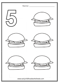 coloring numbers food theme
