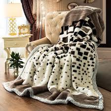 ou jeter un canapé couverture furet couverture en cachemire chaud couvertures polaire