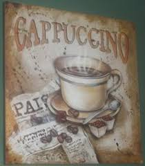 Coffee Cup Decoration Kitchen Java Cafe Wall Plaque Set For Kitchen 99 Moms House