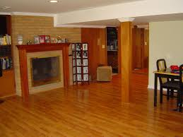 natural interior design of the floating basement flooring options