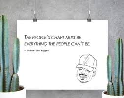 chance the rapper etsy