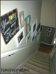 Ideas For Staircase Walls Top Stair Decor Ideas Images Staircase Decorating