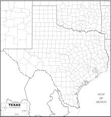 free map of texas
