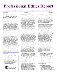 professional ethics report winter 2016 aaas the world s largest
