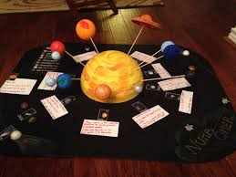 solar system project kids science project pinterest solar