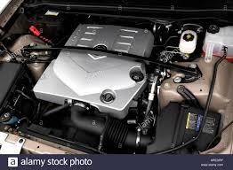 cadillac srx engine 2006 cadillac srx crossover v6 in beige engine stock photo