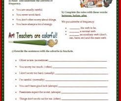 adverbs elementary worksheet