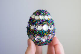 Easter Decorations Video by Beaded Easter Egg Decorating Youtube
