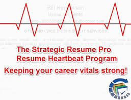 Resume Pro Heartbeat Program Professional Resume Posting Strategic Resume Pro