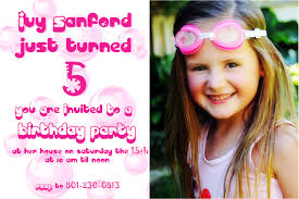 birthday invitation cards for kids dolanpedia invitations ideas
