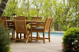 teak furniture minimal care tips