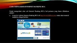 Klikbca Individual Bca Banking Klik Bca Individual