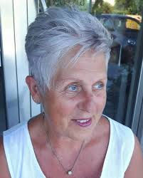 hair styles for full face 47 year old woman 60 gorgeous hairstyles for gray hair