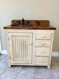 Shabby Chic Bathroom Vanity Unit by Chunky Rustic Painted Bathroom Sink Vanity Unit Wood Shabby Chic
