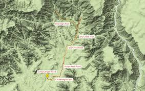 Map Of Sedona Arizona by Bear Sign Trail Sedona Arizona Arizona Trekker
