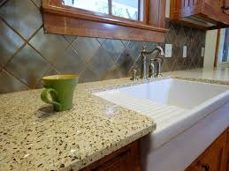 Glass Kitchen Countertops Cheap Countertop Options Best Solution To Get Stylish Kitchen