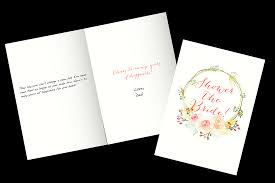 congratulations bridal shower bridal shower wishes what to write in a bridal shower card