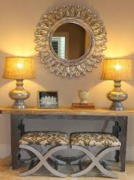 Mirrored Entry Table Mirrored Entryway Table Vanities Decoration Beautiful Entryway