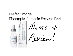 Pumpkin Enzyme Peel Before And After by Perfect Image Pineapple Pumpkin Enzyme Peel Demo U0026 Review Youtube