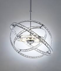Glass Ceiling Pendant Light Eternity 10x20w G4 Chrome And Glass Ceiling Pendant Light