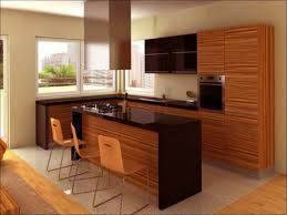 Curved Kitchen Islands by Kitchen Interior Brown Wooden Curved Kitchen Cabinet Light Brown