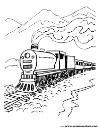 clip art train track coloring page mycoloring free printable