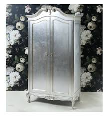 wardrobes french style shabby chic single mirrored wardrobe