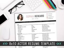 Resume Acting Template