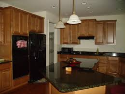 Rustic Oak Kitchen Cabinets Marvellous Red Mahoagany Color Wood Kitchen Floor Featuring White