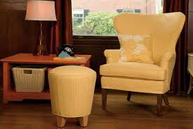 Wingback Chairs Design Ideas Fabolous Yellow Wingback Chair Design Ideas Rilane