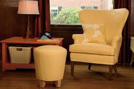 Wing Chairs Design Ideas Fabolous Yellow Wingback Chair Design Ideas Rilane