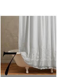 White Linen Shower Curtain 10 Most Wanted Shower Curtains U2014 The Chosen Club Chosen Top 10