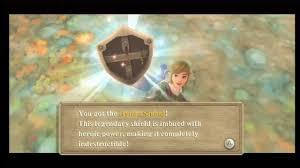 zelda skyward sword hylian shield hero mode six hearts no shield