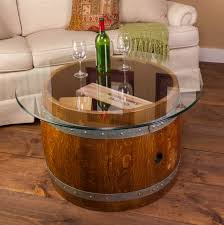 Wine Coffee Table Glass Top Crate Coffee Table Napa East Wine Country Accents