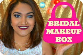 Bridal Makeup Box Bridal Trousseau Bridal Makeup Box Shaheen Gilani Youtube