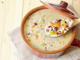 recettes cuisine bio soupe à l orge perlée et riz nérone mes recettes 100 vegan