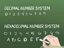 3 ways to understand hexadecimal wikihow
