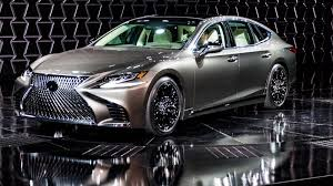 lexus sedan vs acura sedan the new 2018 lexus ls500 gets a twin turbo v6 and drives around